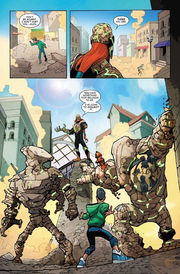 Interior preview page from REPTIL #1 (OF 4)