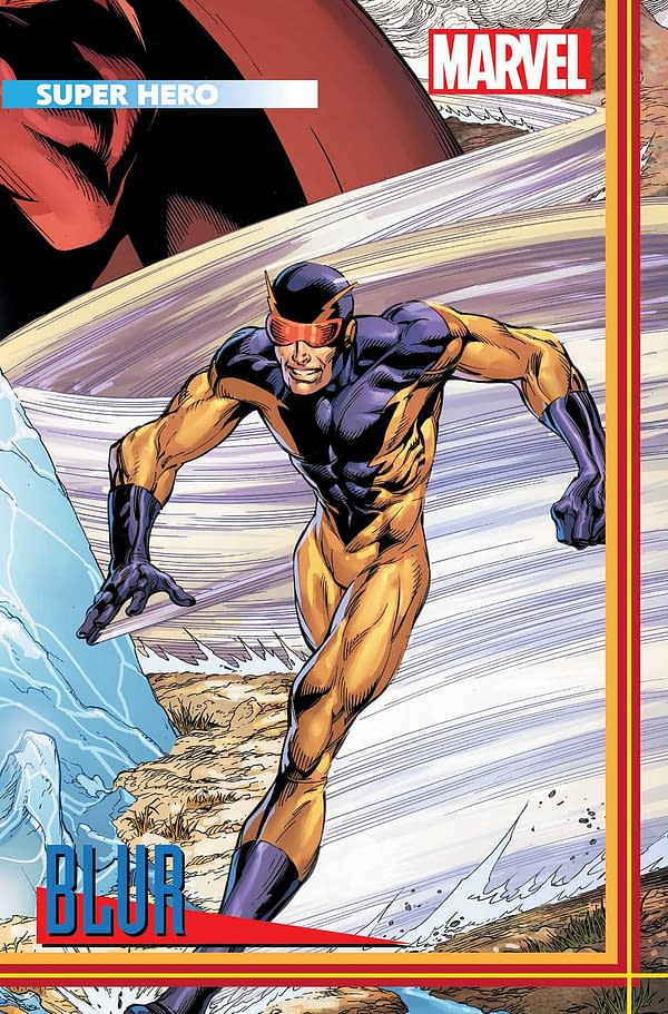 Cover image for HEROES REBORN #3 (OF 7) BAGLEY TRADING CARD VAR