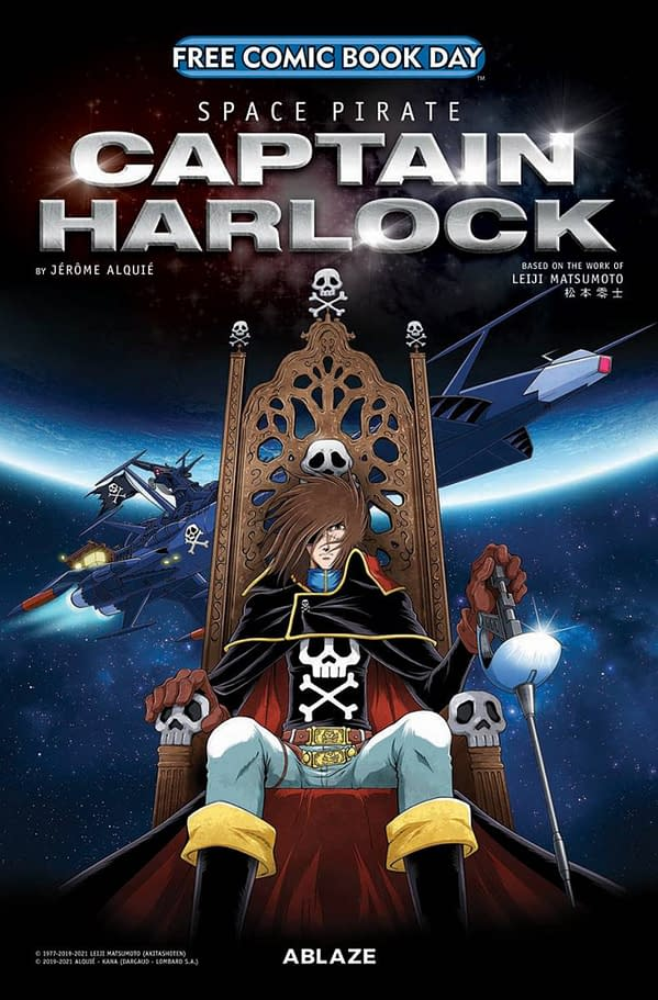 FCBD Preview: Space Pirate Captain Harlock for Free Comic Book Day