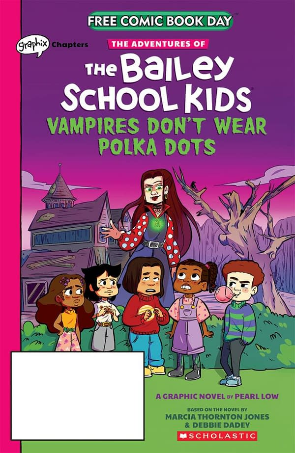 FCBD Preview: Adventures of Bailey School Kids from Scholastic Graphix
