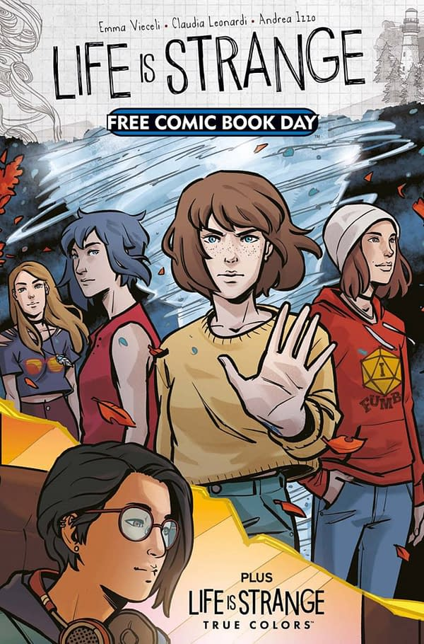 New FCBD Covers For Slaughter, Life Is Strange and