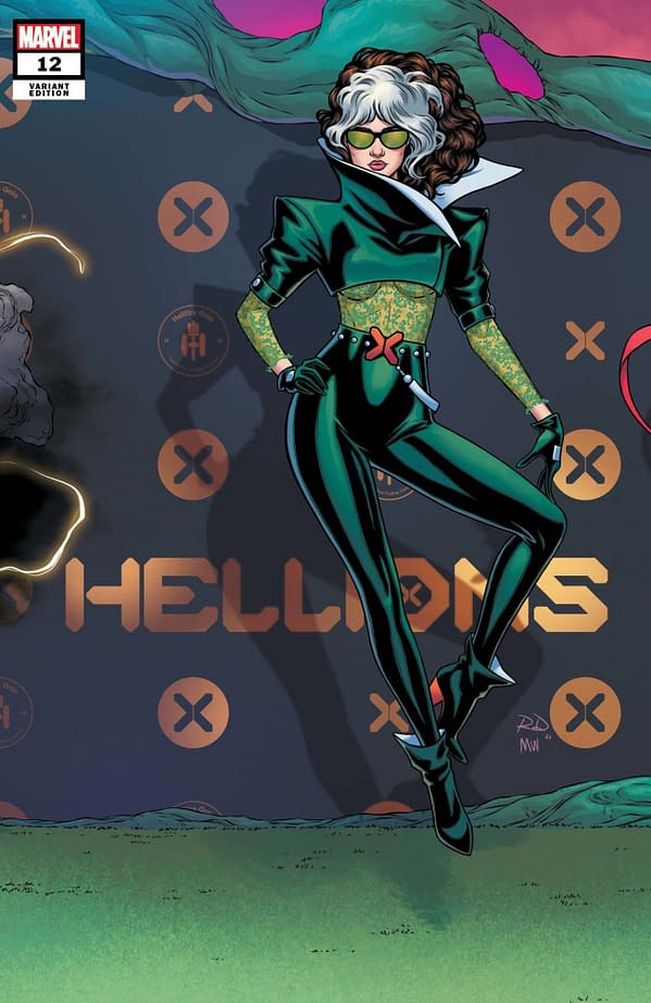 Cover image for HELLIONS #12 DAUTERMAN CONNECTING VAR GALA