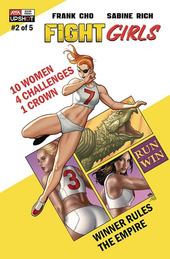 Cover image for FIGHT GIRLS #2
