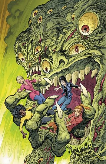 Cover image for GIRLS OF DIMENSION 13 #5