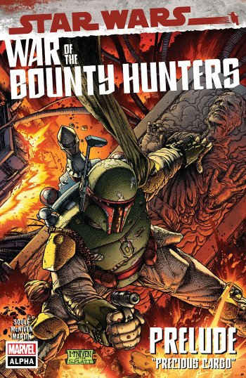 Star Wars: War of the Bounty Hunters Alpha #1 Cover