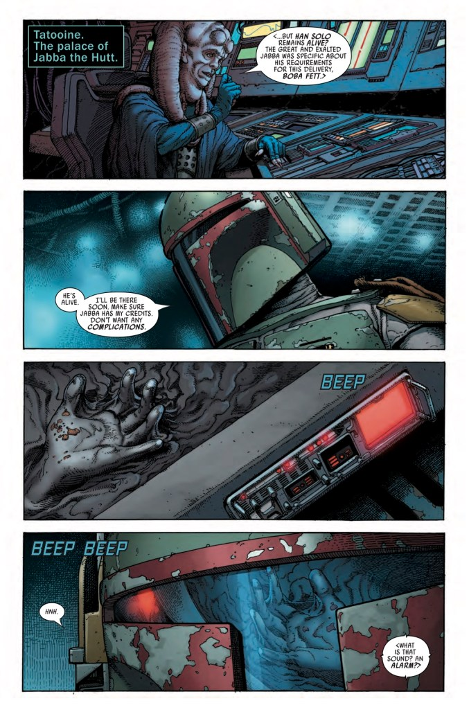 Star Wars: War of the Bounty Hunters Alpha #1 Page 2