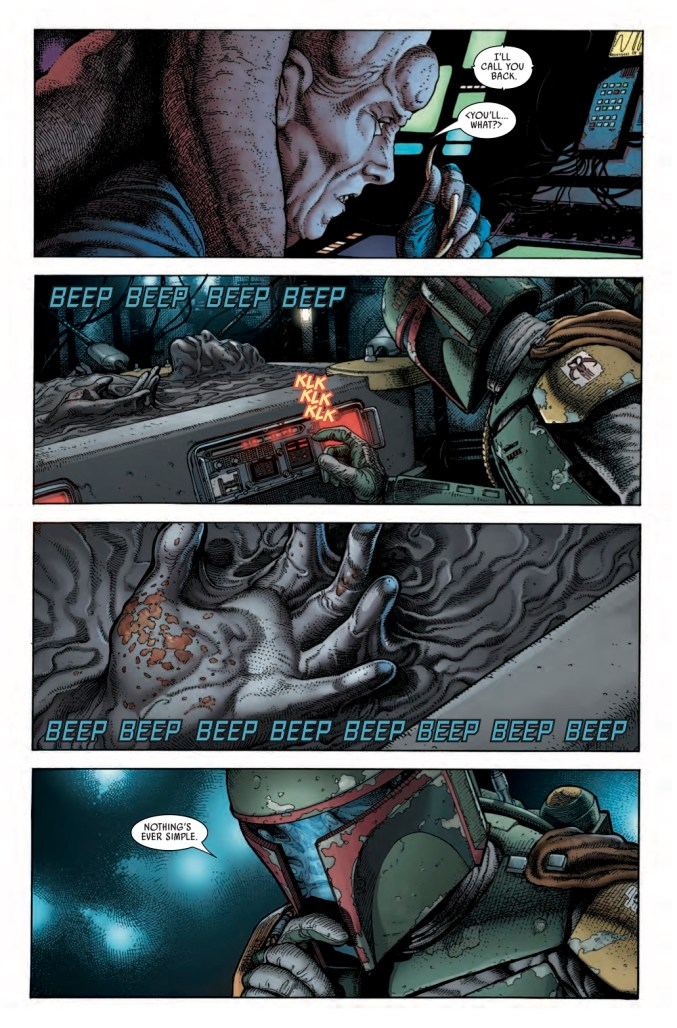 Star Wars: War of the Bounty Hunters Alpha #1 Page 3