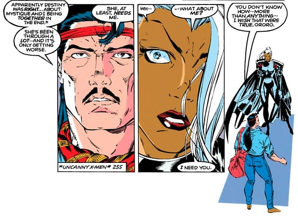 A panel from Uncanny X-Men #290