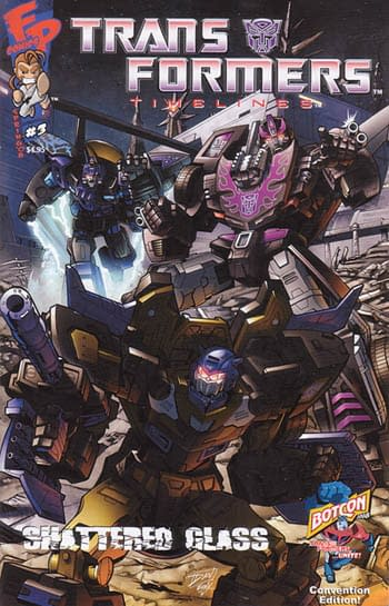 Transformers Timelines Volume 2 #3 Botcon Cover
