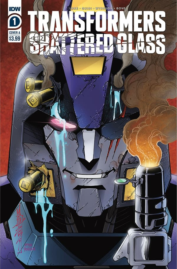 Transformers Shattered Glass #1A Cover