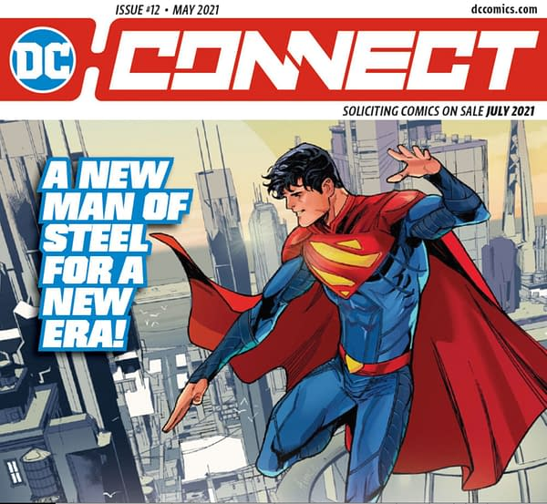 DC Comics To Print Monthly Solicitations Catalog, DC Connect, Again