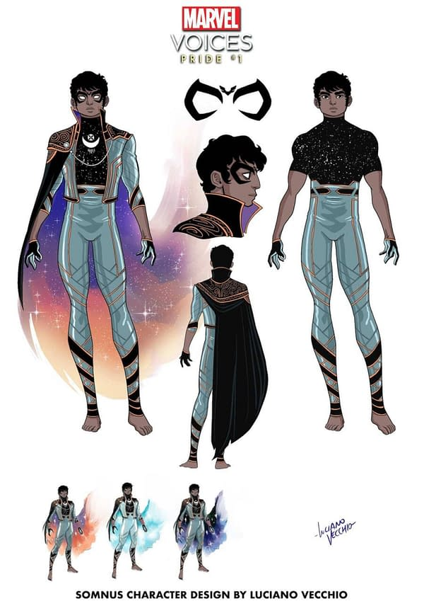 Somnus Is A Mutant Brought Back To Life For Marvel's Voises: Pride