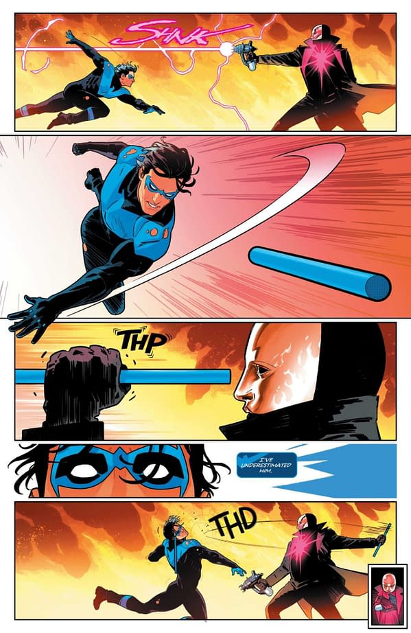 Interior preview page from NIGHTWING #81 CVR A BRUNO REDONDO