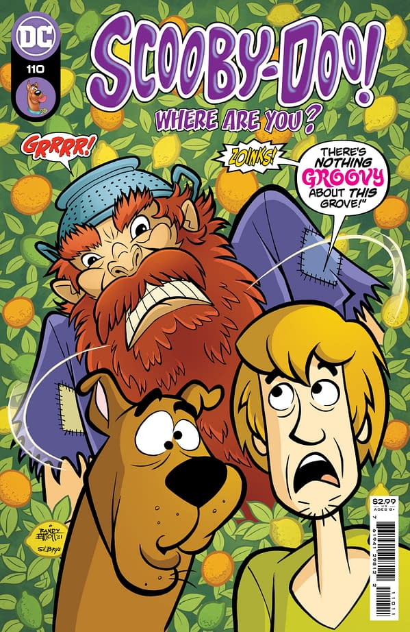 Cover image for SCOOBY-DOO WHERE ARE YOU #110