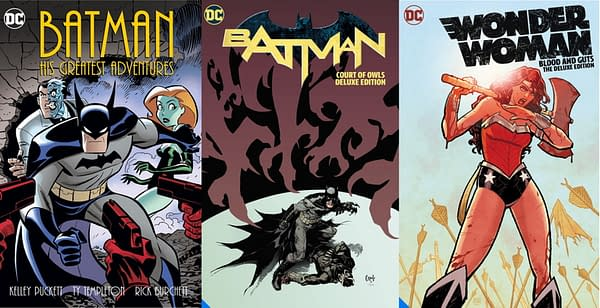 DC Cancels Batman And Wonder Woman Collections