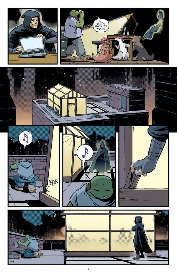 Interior preview page from TMNT ONGOING #118 CVR A NELSON DANIEL