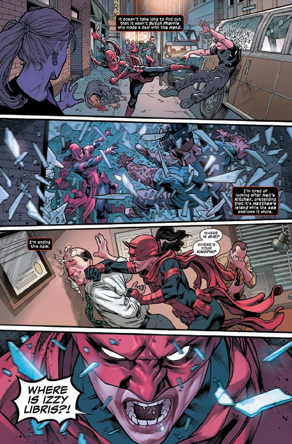 Interior preview page from DAREDEVIL #31