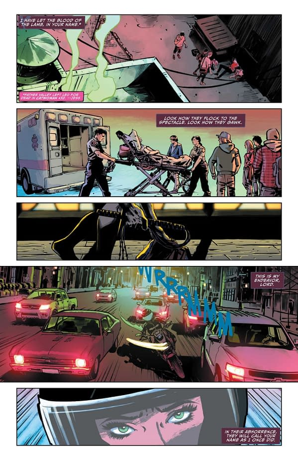Interior preview page from CATWOMAN 2021 ANNUAL #1 CVR A KYLE HOTZ