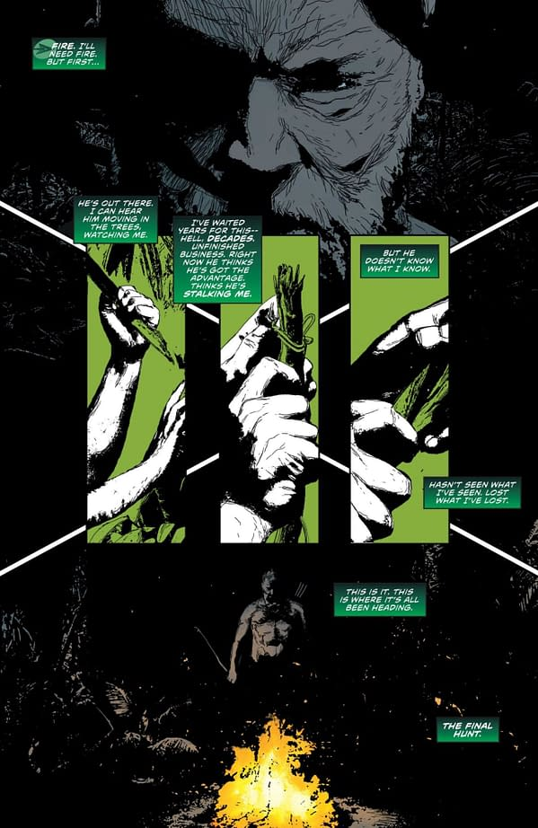 Interior preview page from GREEN ARROW 80TH ANNIVERSARY 100-PAGE SUPER SPECTACULAR #1 CVR A DAN MORA