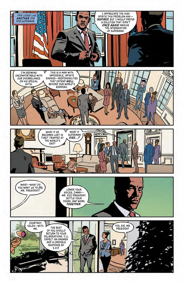 Interior preview page from INFINITE FRONTIER SECRET FILES #1 (ONE SHOT)