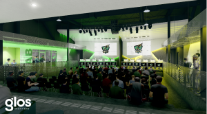 St. Clair College's Esports facility concept. Credit: St. Clair College