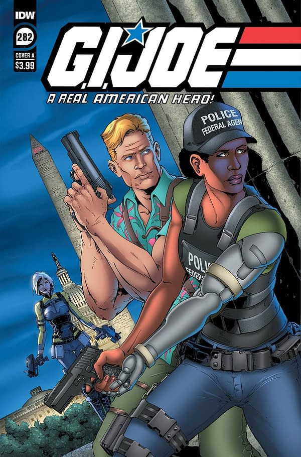 Cover image for GI JOE A REAL AMERICAN HERO #282 CVR A ANDREW GRIFFITH
