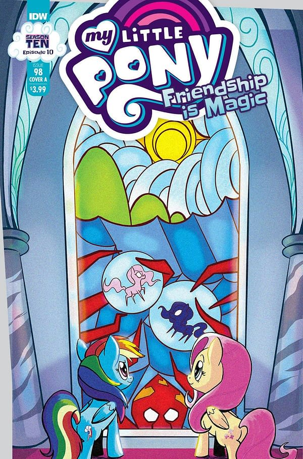 Cover image for MY LITTLE PONY FRIENDSHIP IS MAGIC #98 CVR A AKEEM S ROBERTS
