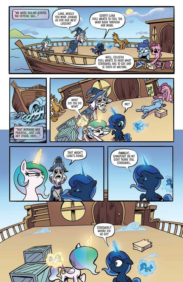 Interior preview page from MY LITTLE PONY FRIENDSHIP IS MAGIC #98 CVR A AKEEM S ROBERTS