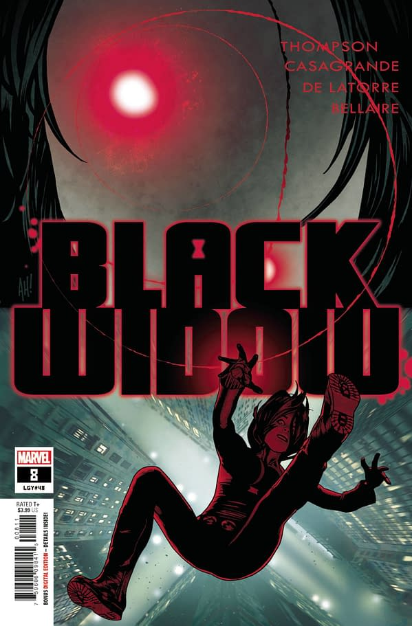 Cover image for BLACK WIDOW #8
