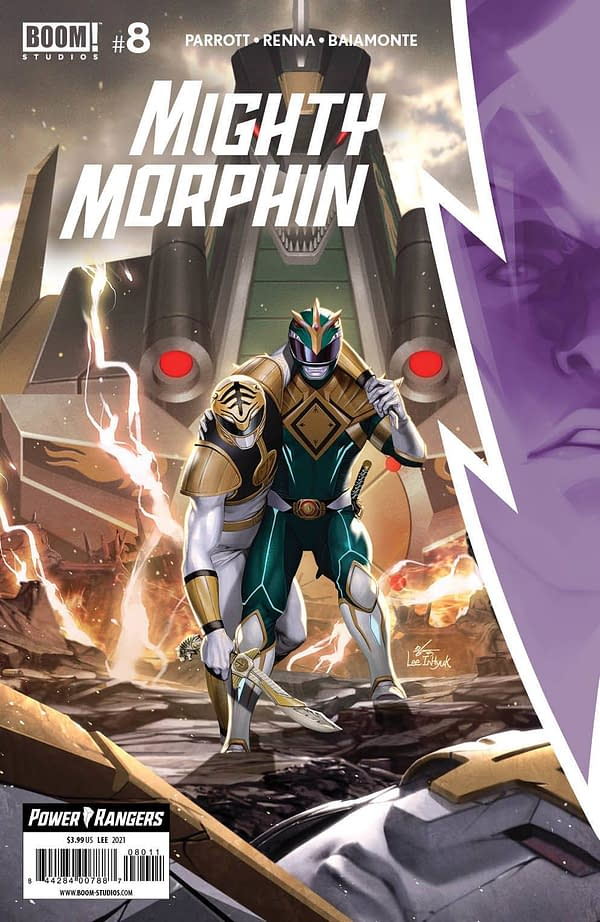 Cover image for MIGHTY MORPHIN #8 CVR A LEE