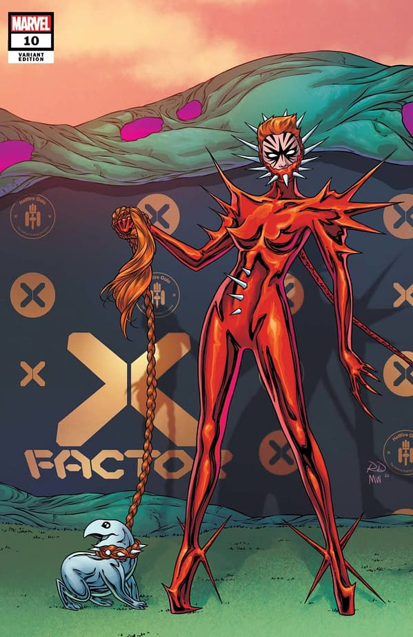 Cover image for X-FACTOR #10 DAUTERMAN CONNECTING VAR GALA