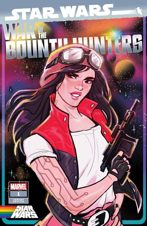 Cover image for STAR WARS WAR OF THE BOUNTY HUNTERS #1 (OF 5) TARR PRIDE VAR
