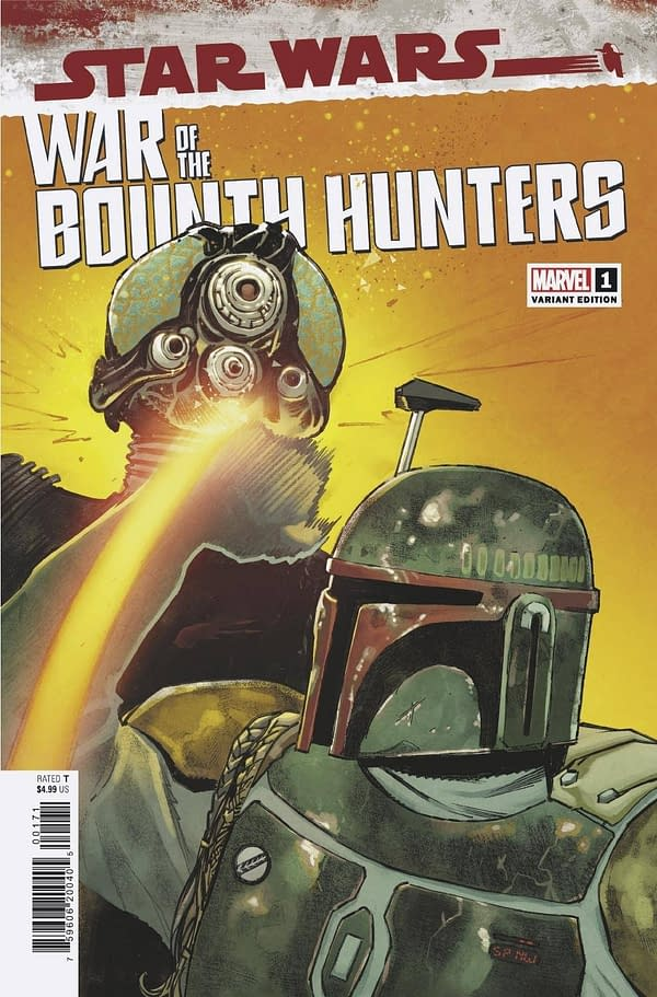 Cover image for STAR WARS WAR OF THE BOUNTY HUNTERS #1 (OF 5) PICHELLI VAR