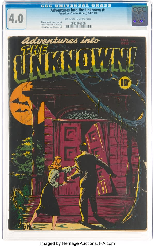 Adventures Into The Unknown #1 (ACG, 1948)