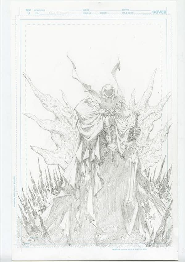 First Look At King Spawn #1