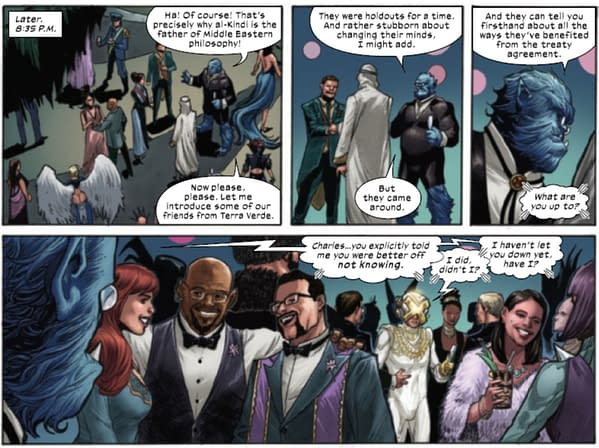 What Happened At Midnight At The Hellfire Gala? (Spoilers)