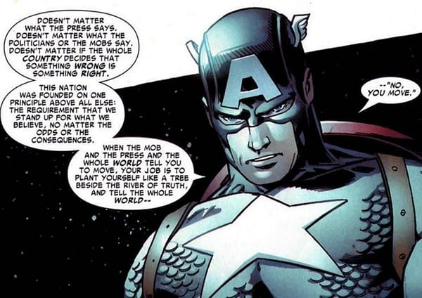 Captain America Has Always Been Political- Daily LITG, 10th July 2021