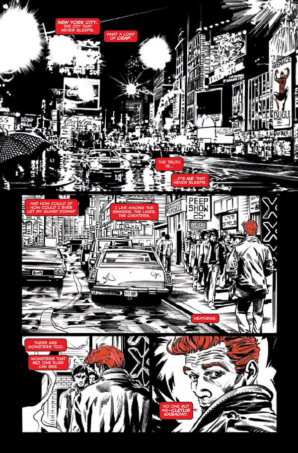 Interior preview page from CARNAGE BLACK WHITE AND BLOOD #4 (OF 4)