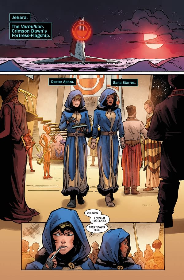 Interior preview page from STAR WARS DOCTOR APHRA #12 WOBH