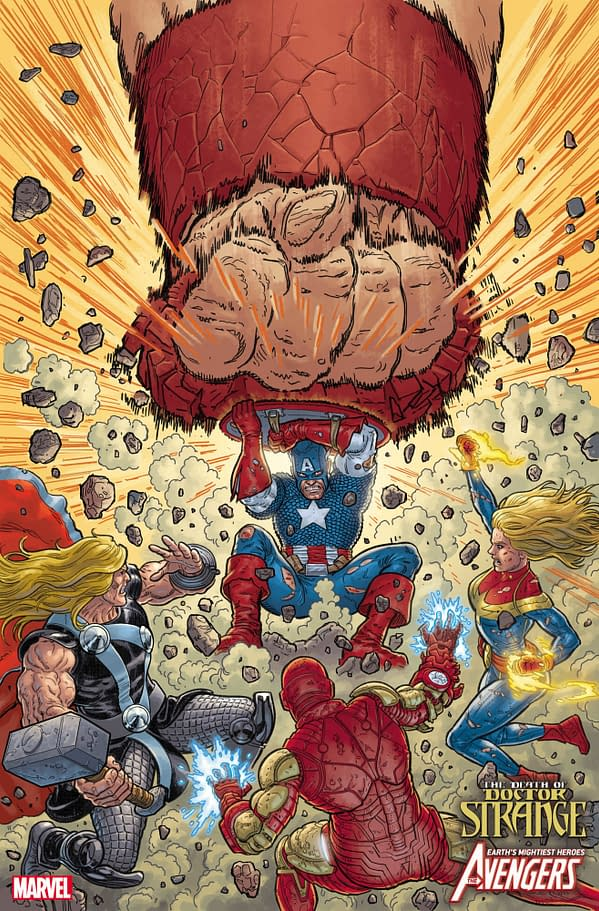 Cover to Avengers: The Death of Doctor STrange