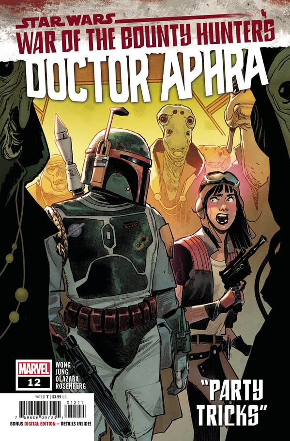 Cover image for STAR WARS DOCTOR APHRA #12 WOBH