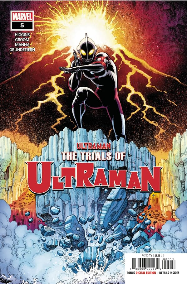 Cover image for TRIALS OF ULTRAMAN #5 (OF 5)
