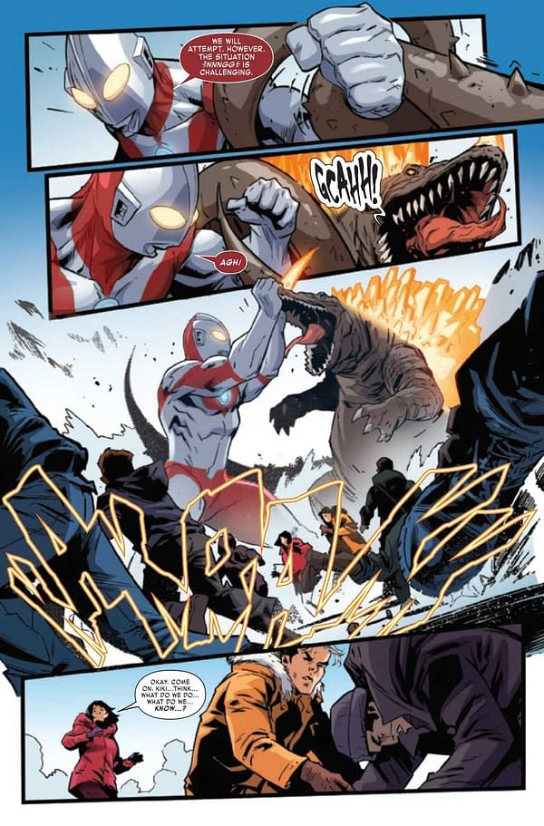 Interior preview page from TRIALS OF ULTRAMAN #5 (OF 5)