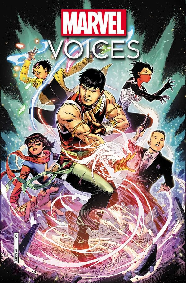 Whicle Portacio Joins Marvel's Voices: Identity