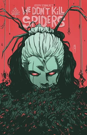Cover image for WE DONT KILL SPIDERS #2 (OF 3)