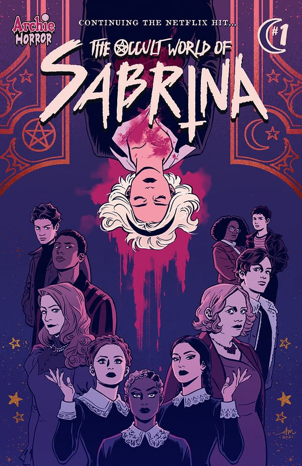 Cover to The Occult World of Sabrina #1 by Audrey Mok from Archie Comics
