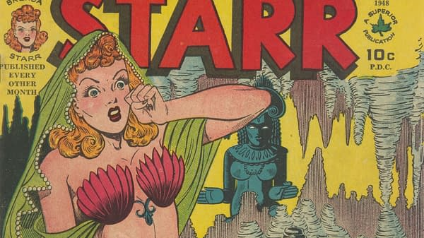 Pushing Boundaries with Dale Messick's Brenda Starr, Up for Auction