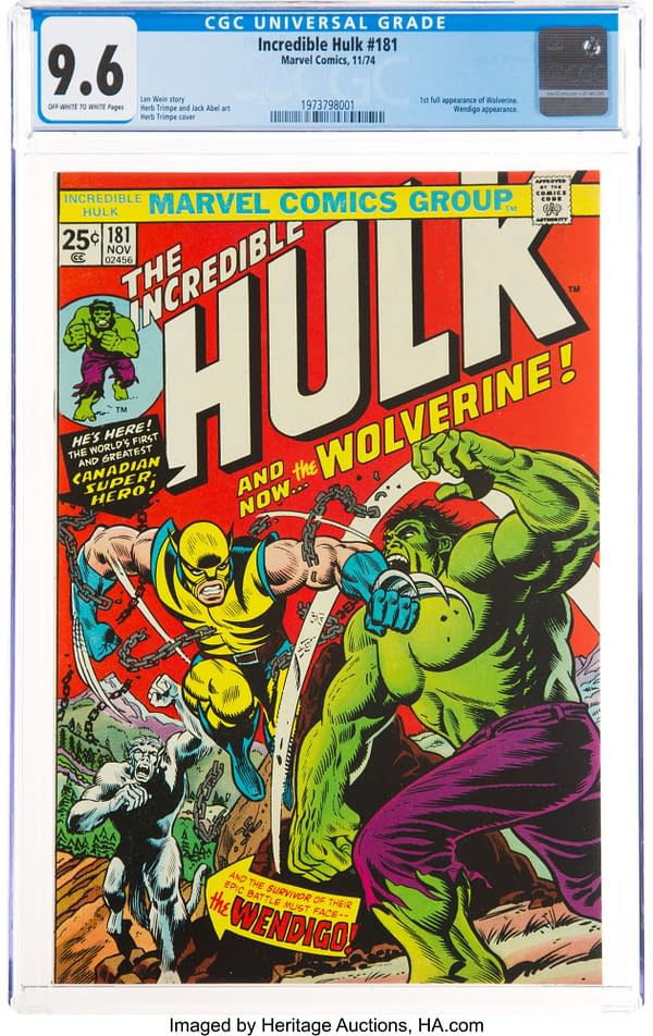 3 First Wolverine Appearances At Auction, One Owned By Glenn Danzig