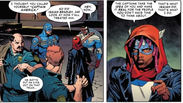 Can We Get Dean Cain To Comment On New United States Of Captain America #2?