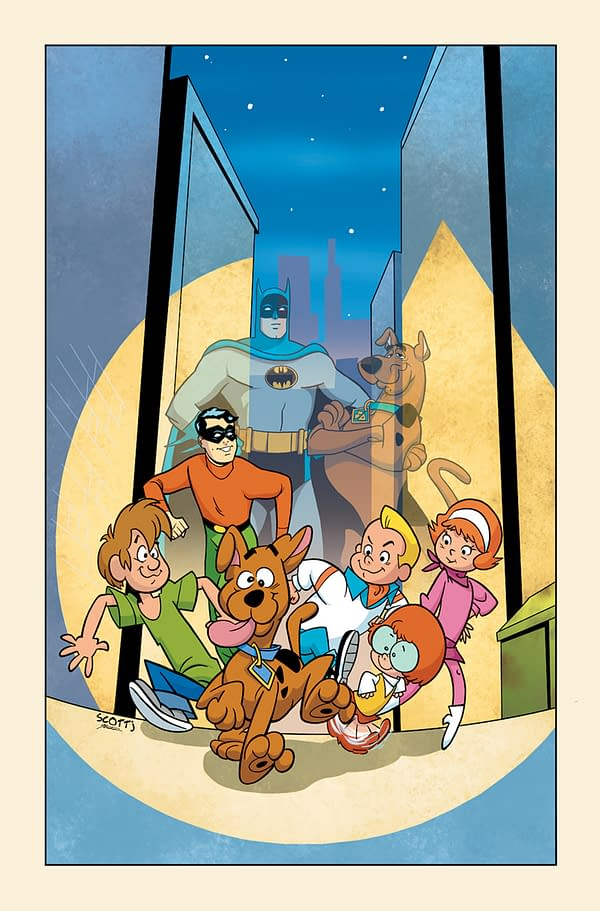 Cover image for BATMAN & SCOOBY-DOO MYSTERIES #6 (OF 12)